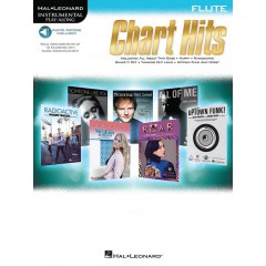 CHART HITS FLUTE + AUDIO TELECHARGEABLE