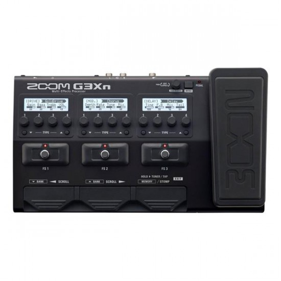 G3XN MULTIEFFET GUITARE PEDALE EXPRESSION