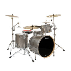 LUDWIG - KIT LUDWIG KEYSTONE 4F NIGHT OAK TITANIUM