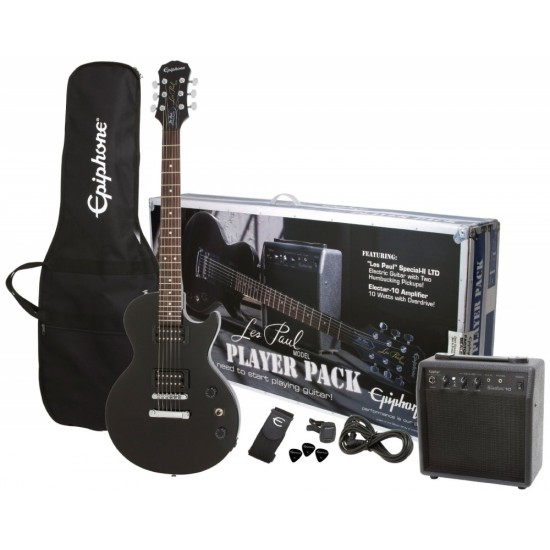 LES PAUL ELECTRIC GUITAR PLAYER PACK