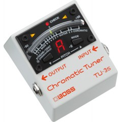 BOSS - CHROMATIC TUNER