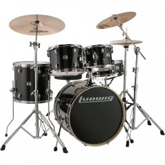 KIT LUDWIG ELEMENT 200 5F NOIR PAILLETE
