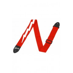 THE LIGHTNING BOLT SEATBELT RED