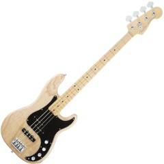 AM DLX JAZZ BASS MN NAT
