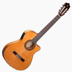 ALHAMBRA 3F-CT-E1 GUITARE ELECTRO-ACOUSTIQUE FLAMENCA