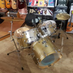 MAPEX - Q R GOLD SPARKLE COMPLETE AVEC RIDE  CR 18