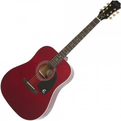EPIPHONE - DR-100 ACOUSTIC WINE RED