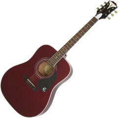 EPIPHONE - PRO-1 PLUS ACOUSTIC WINE RED