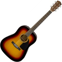 FENDER - CD60 V3 DREADNOUGHT DS SUNBURST WN