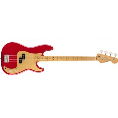 FENDER - BASSE FENDER VINTERA 50S P BASS Dakota Red