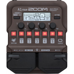 ZOOM - EFFETS ZOOM A1 ACOUSTIC MULTIEFFETS