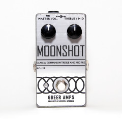GREER AMPS - EFFETS GREER AMPS MOONSHOT GERMANIUM PREAMP