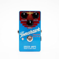 GREER AMPS - EFFETS GREER AMPS TOMAHAWK DELUXE DRIVE  OVERDRIVE