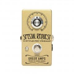 GREER AMPS - EFFETS GREER AMPS SPECIAL REQUEST PREAMP true tone enhancer