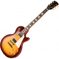 GIBSON - GUITARE ELECTRIQUE GIBSON LES PAUL TRIBUTE SATIN ICED TEA LPTR00SINH1