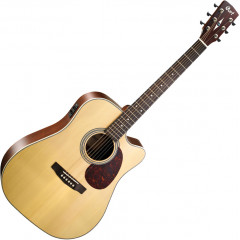 CORT - GUITARE ELECTROACOUSTIQUE CORT 600FNS GUITARE MR600F NATUREL SATINE