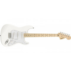 SQUIER - GUITARE ELECTRIQUE SQUIER 0310603505 FSR Affinity Series Stratocaster Maple Fingerboard Olympic White
