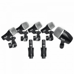 CAD AUDIO - MICROPHONES CAD AUDIO PACK 7 MICROS BATTERIE STAGE7