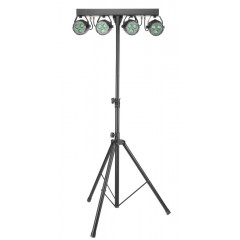 STAGG - HITECH STAGG SLB 4P34 41 2 4PARS 3X4W 4IN1 LIGHT SET